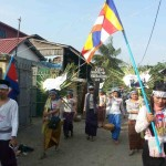 BKL marching to Concil for Development of Cambodia - CDC to consider human abuses before giving a green light to investment.